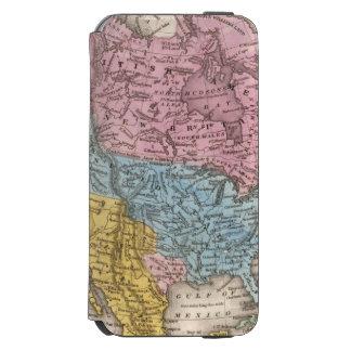 Map of North America 2 Incipio Watson™ iPhone 6 Wallet Case