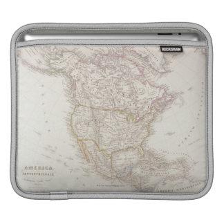 Map of North America 2 iPad Sleeve