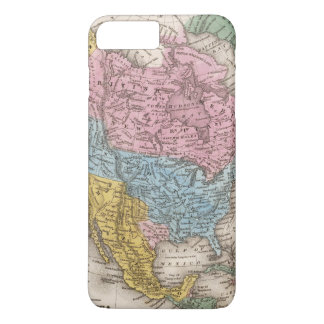 Map of North America 2 iPhone 8 Plus/7 Plus Case