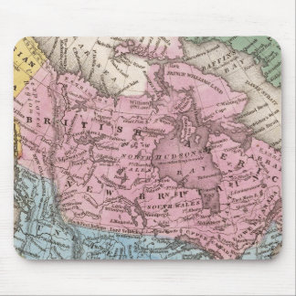 Map of North America 2 Mouse Mat