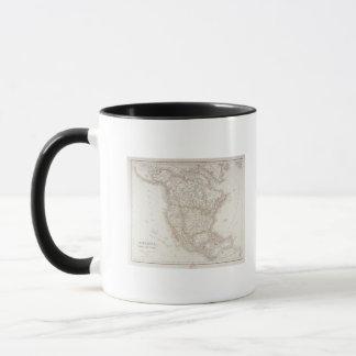 Map of North America 2 Mug