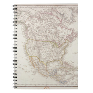 Map of North America 2 Notebooks