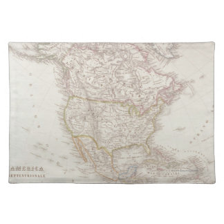 Map of North America 2 Placemat