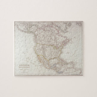 Map of North America 2 Puzzles