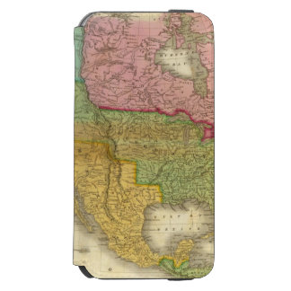 Map of North America 3 Incipio Watson™ iPhone 6 Wallet Case