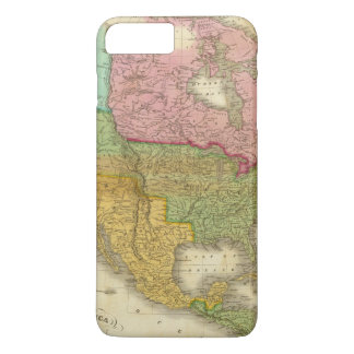 Map of North America 3 iPhone 8 Plus/7 Plus Case