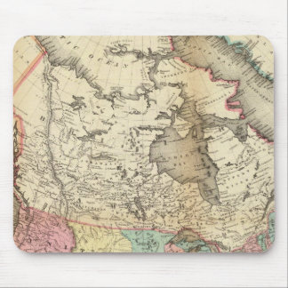 Map of North America 3 Mouse Mat