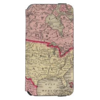 Map Of North America Incipio Watson™ iPhone 6 Wallet Case