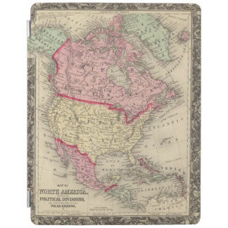Map Of North America iPad Cover
