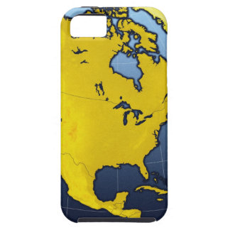 Map of North America iPhone 5 Covers