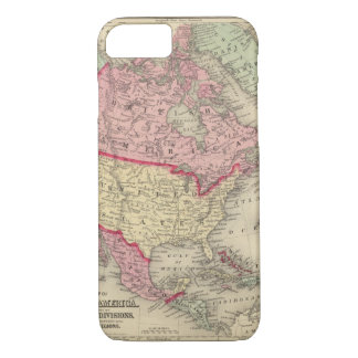 Map Of North America iPhone 8/7 Case