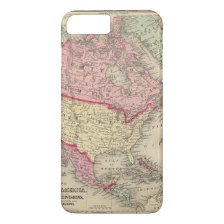 Map Of North America iPhone 8 Plus/7 Plus Case