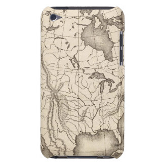 Map of North America iPod Touch Covers