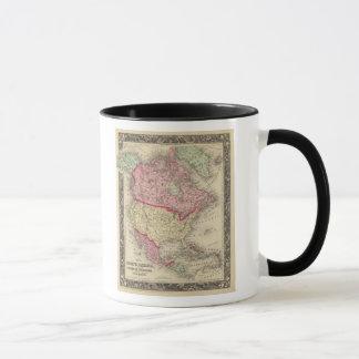 Map Of North America Mug