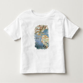 Map of North and South America Toddler T-Shirt