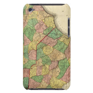Map of North and South Carolina Barely There iPod Case