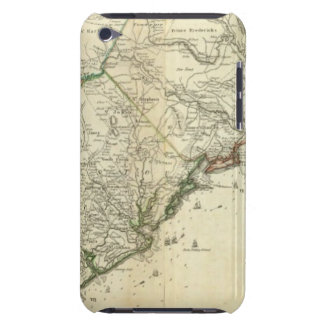 Map Of North And South Carolina Barely There iPod Cases