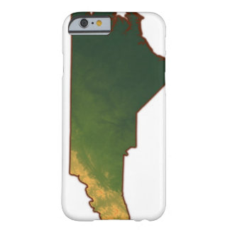 Map of North Carolina 2 Barely There iPhone 6 Case