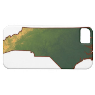 Map of North Carolina 2 iPhone 5 Cases