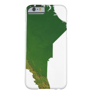 Map of North Carolina Barely There iPhone 6 Case
