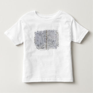 Map of North-eastern Brazil Toddler T-Shirt