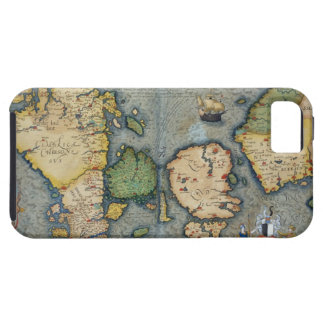 Map of Northern Europe, from 'Civitates Orbis Terr iPhone 5 Case