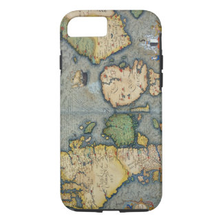 Map of Northern Europe, from 'Civitates Orbis Terr iPhone 8/7 Case