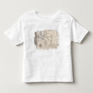 Map of Nouvelle-France  1699 Toddler T-Shirt