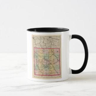 Map of Oakland County, Michigan Mug