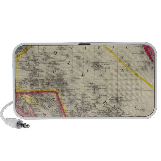Map Of Oceanica Notebook Speakers