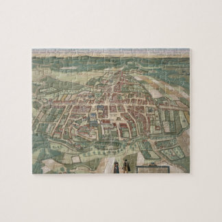 Map of Odense, from 'Civitates Orbis Terrarum' by Jigsaw Puzzle