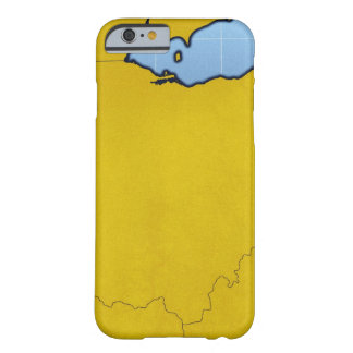 Map of Ohio 2 Barely There iPhone 6 Case