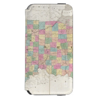 Map of Ohio And Indiana Incipio Watson™ iPhone 6 Wallet Case