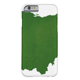 Map of Ohio Barely There iPhone 6 Case