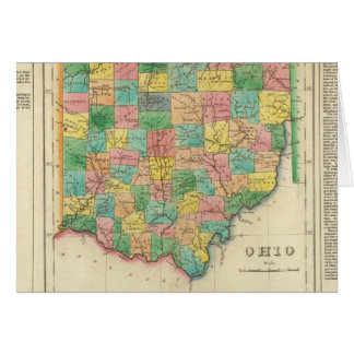 Map Of Ohio Card