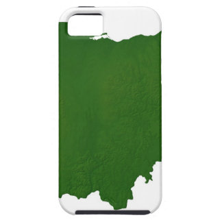 Map of Ohio Case For The iPhone 5