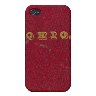 Map of Ohio iPhone 4 Cover