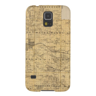 Map of Olmsted County, Minnesota Galaxy S5 Cover