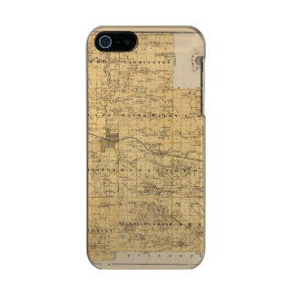 Map of Olmsted County, Minnesota Incipio Feather® Shine iPhone 5 Case