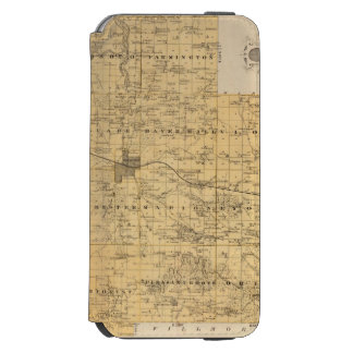 Map of Olmsted County, Minnesota Incipio Watson™ iPhone 6 Wallet Case
