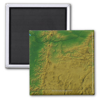 Map of Oregon Square Magnet