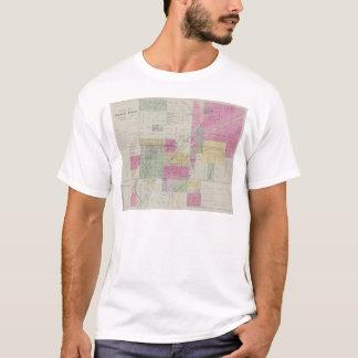 Map of Osage City, Kansas T-Shirt