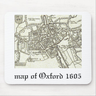 map of Oxford 1605.png Mouse Pad