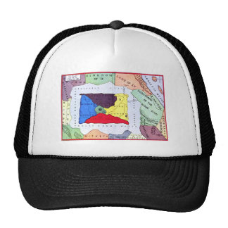 Map Of Oz Mesh Hats