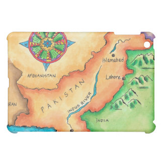 Map of Pakistan iPad Mini Cover