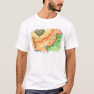 Map of Pakistan T-Shirt
