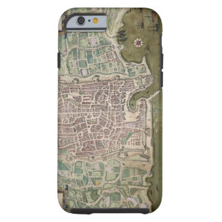 Map of Palermo, from 'Civitates Orbis Terrarum' by Tough iPhone 6 Case