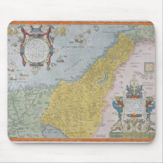 Map of Palestine Mouse Mat