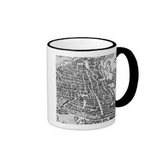 Map of Paris, 1620 Ringer Mug