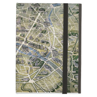 Map of Paris during the period of the Grands iPad Air Cover